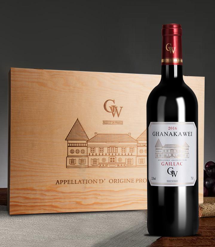 12.5°法国加拿卡威干红葡萄酒750ml