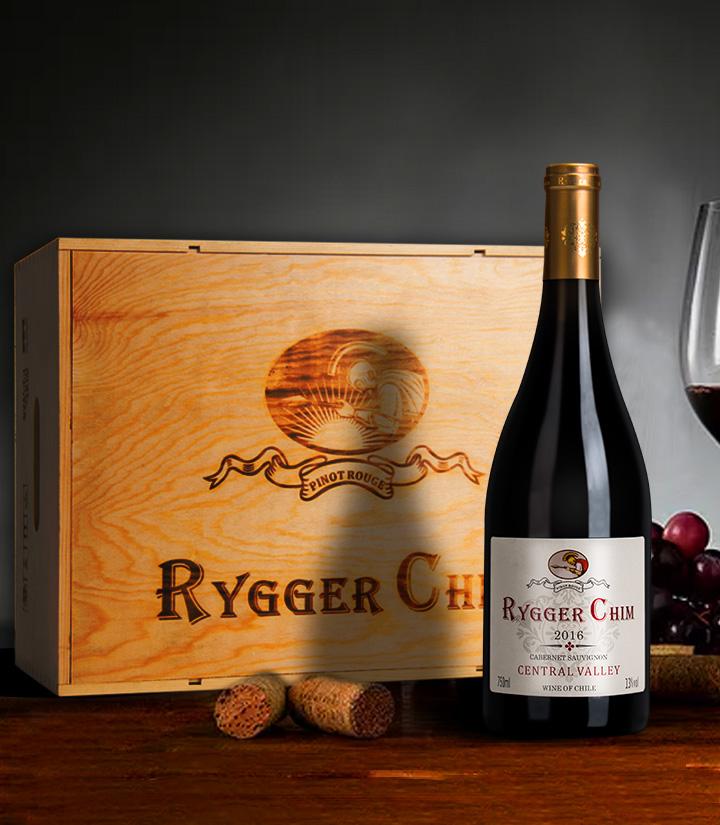13°智利雷格希姆赤霞珠干红葡萄酒750ml